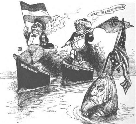ww1 sinking of the lusitania 26 best ww1 political cartoons images on pinterest