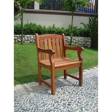 teak outdoor armchairs outdoor armchair in teak v211