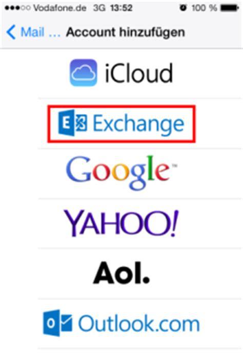 Mba Exchange Uq by Exchange Konto Auf Iphone Einrichten Chip