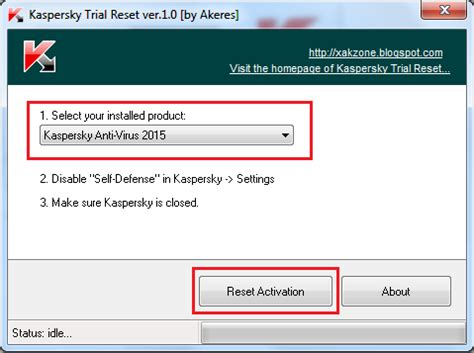 reset kaspersky 2015 password kaspersky 2015 trial reset xakzone tips and tricks