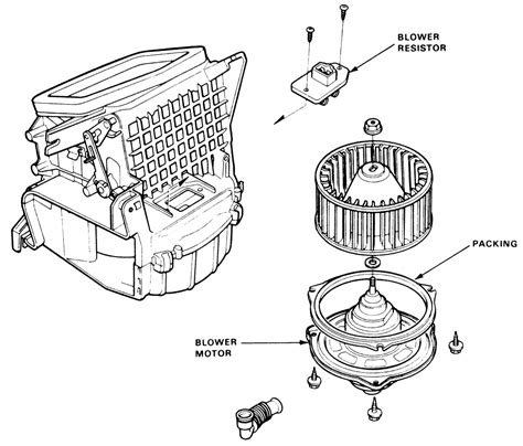 blower motor resistor troubleshooting repair guides heating and air conditioning blower motor autozone