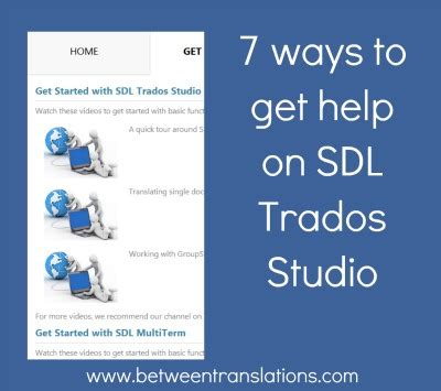 7 Ways To Find A Great Stylist by 7 Ways To Get Help On Sdl Trados Studio