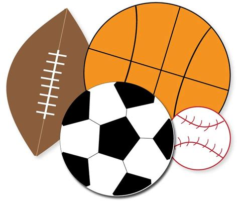 sports clipart sports clipart black and white clipart panda free
