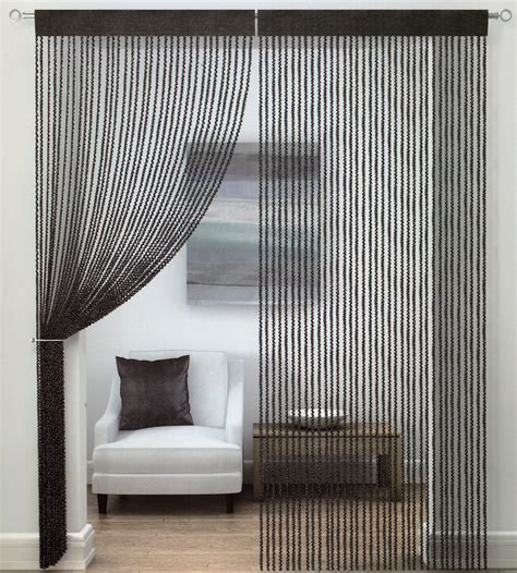 thread curtains online buy twist string curtain online at www shawsdirect com