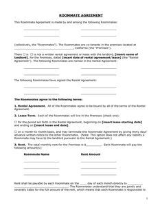 sle monthly rental agreement free standard residential lease agreement template
