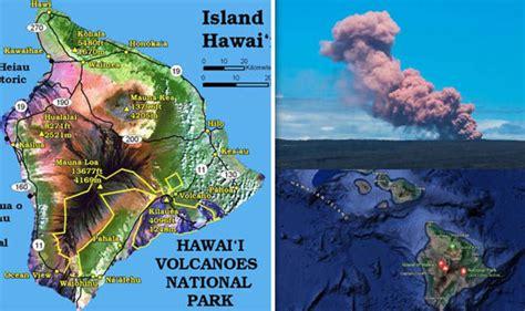 aloha haircuts hilo hours hawaii volcano eruption mapped where is kilauea volcano