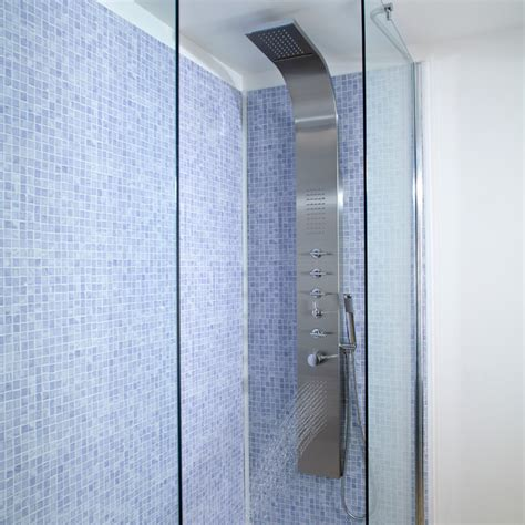 Shower System With Jets by Shower Tower Panel Systems