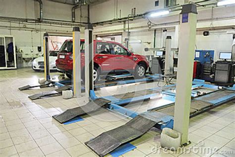 a car repair garage royalty free stock images image
