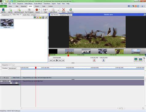 tutorial de videopad por nch videopad video editor descargar