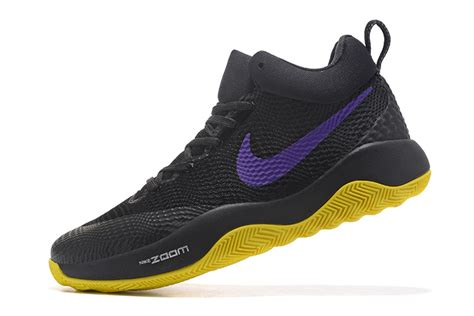 nike casual basketball shoes newest nike hyperrev 2017 black purple yellow s