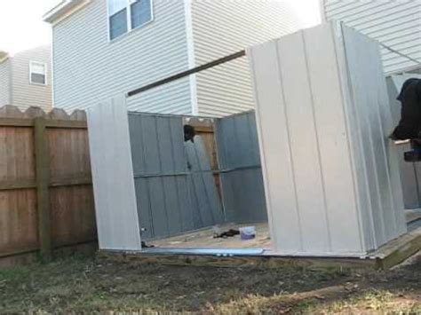 storage shed  lowes assembled  hands