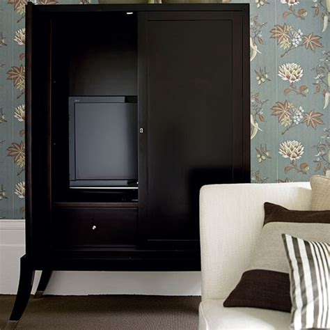 Black Cabinet For Living Room by Living Room With Black Tv Cabinet Modern Storage Ideas