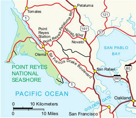point reyes national seashore map point reyes maps npmaps just free maps period