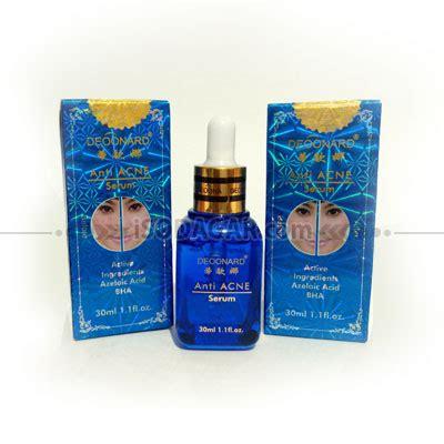 Serum Deoonard serum deoonard biru anti acne 30ml isodagar