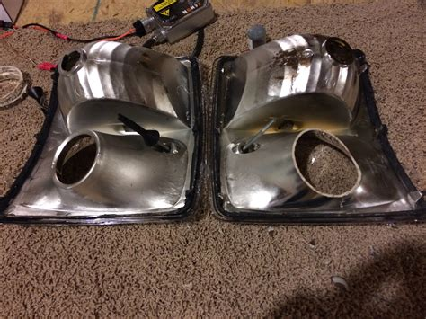 retro rubber sts completed 2008 cadillac sts fog light retro w mini h1