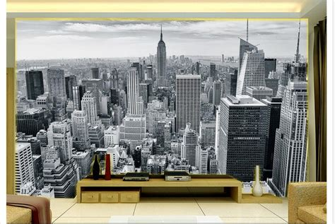 lukisan dinding kamar  dimensi hitam putih