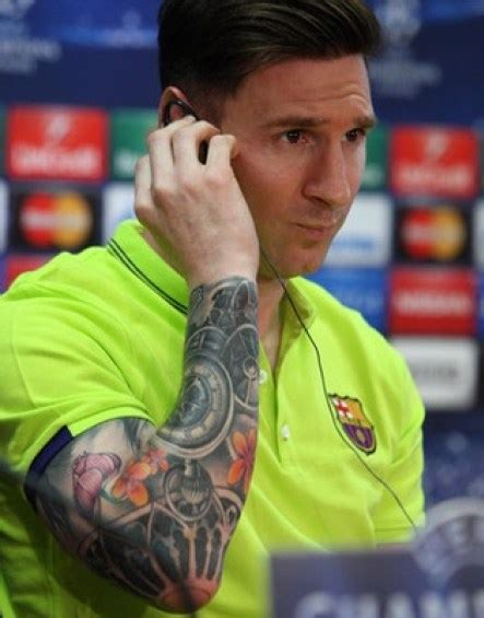 lionel messi now has a full sleeve tattoo is nothing messi tattoos and their history video art body