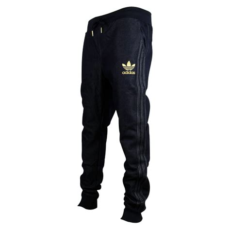 Jaket Hoodi Jeren Gold Pro Left Side Black Hoodie mens adidas originals cuffed denim blue tracksuit