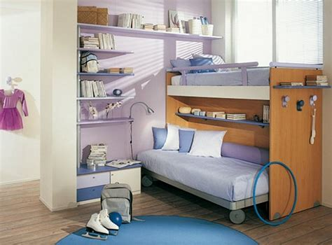 blue bedrooms for kids delicate kids bedroom with woodedn bunk bed blue bed