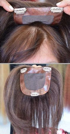 hair extensions for thinning scalp om hair best clip in wig toppers for women with thinning hair or