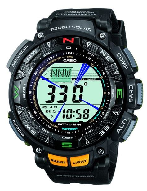 Casio Sea Pathfinder Not Gshock casio pathfinder pag240 1 pag240b 2 and pag240t 7 models