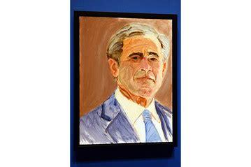 biography george washington bush george w bush unveils paintings of world leaders
