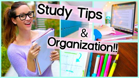 organization tips for school study tips organization for school getting motivated for school