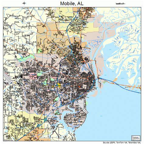 maps for mobile mobile alabama map bnhspine