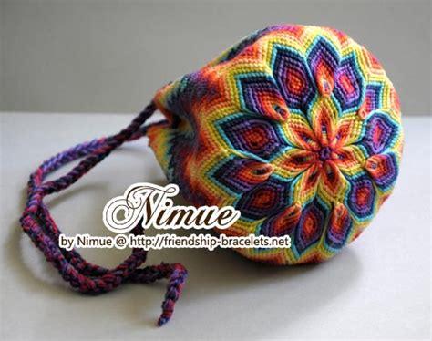 Macrame Pouch Pattern - macramee pouch tutorial misc crochet