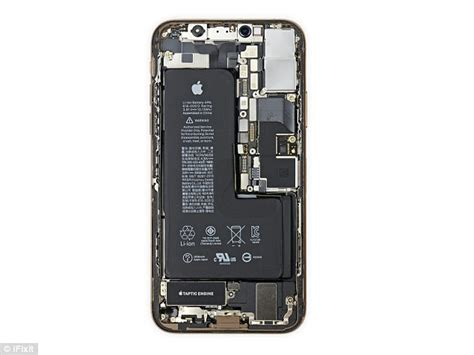 teardown of the iphone xs and xs max reveals what s really inside daily mail