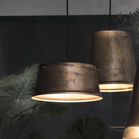 illuminazione rustica lada a sospensione rustica in ferro anticato khonus il