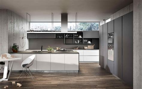 white and gray kitchen ideas white and grey kitchen designs deductour