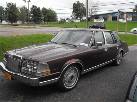 car owners manuals for sale 1985 lincoln continental mark vii electronic throttle control 1985 classic lincoln continental givenchy barn find good restoration project for sale photos