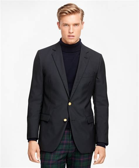 Blazer V Brothers Style s fitzgerald fit two button classic 1818 navy blazer