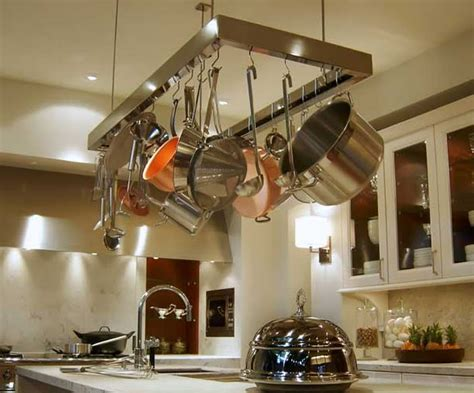 Kitchen Island Pot Rack Stainless Steel For The Pot Hanging Rack Market