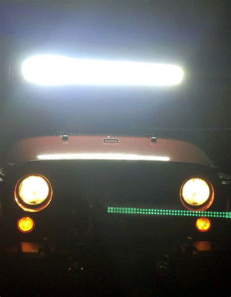 light bar installation cost wrangler jk raxiom light bar installation night testing