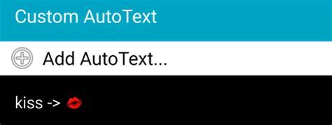 emoji autotext how to use emojis smart keyboard