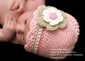 baby hat crochet pattern with shell trim crochet hat pattern