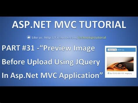 tutorial jquery ajax asp net part 32 preview image before upload using jquery in asp