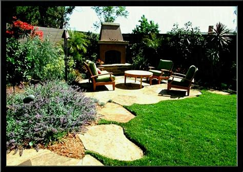 furniture landscape 54eb59d77b29a little house on the lake couch garden and patio narrow side yard house design with simple