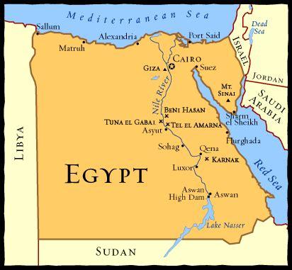 4thpuntachica / egypt map