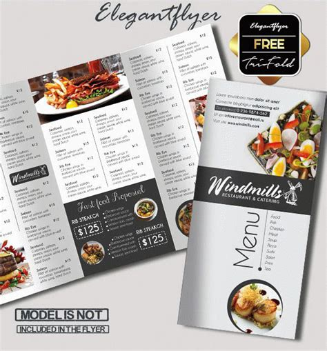 bi fold menu template 45 free psd tri fold bi fold brochures templates for