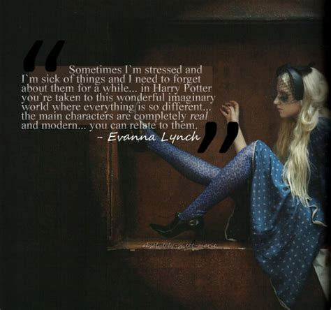 The Harry Potter Press Madness Begins And Evanna Dont Away by Evanna Lynch Diary Of A Harry Potter Addict