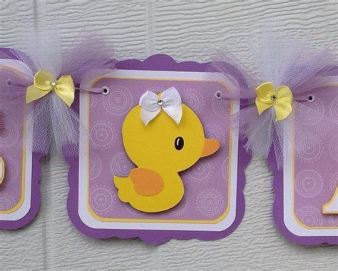 Duck Baby Shower Banner by Rubber Duck Baby Shower Banner Duck Banner Rubber Duck