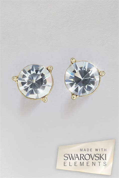 Swarovski Elements Stud Earring stud earrings made with swarovski elements