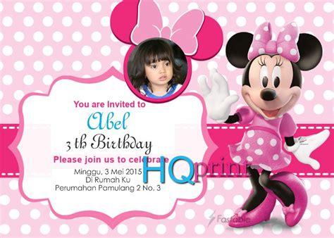 Tas Ultah Bisa Di Kasih Foto Anak Bunda 1 kartun disney undangan ulang tahun anak kartu ultah anak