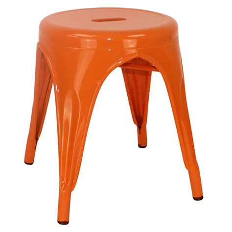Stool Is Orange by Orange Stool Our House