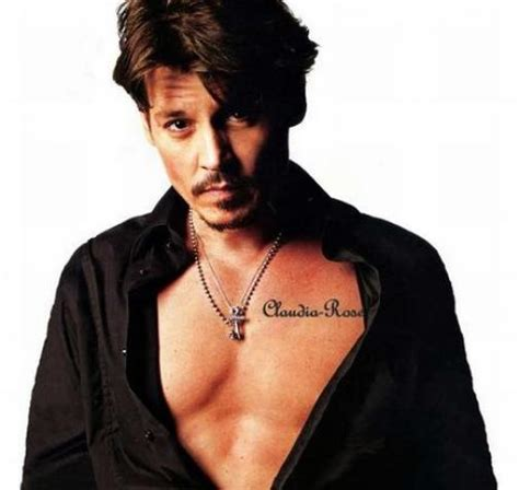 johnny depp tattoo johnny depp tattoos