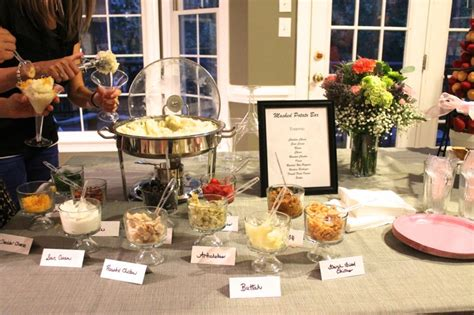mashed potato bar toppings wedding team wedding blog 5 fun food bars to liven up your reception