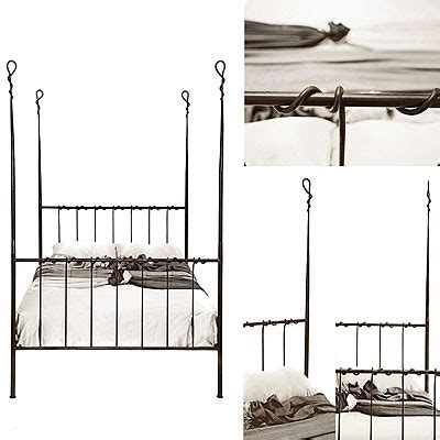 Iron Four Poster Bed Frames Redhouse Bed Frame 45 Four Poster Handforged Wrough Iron Bed